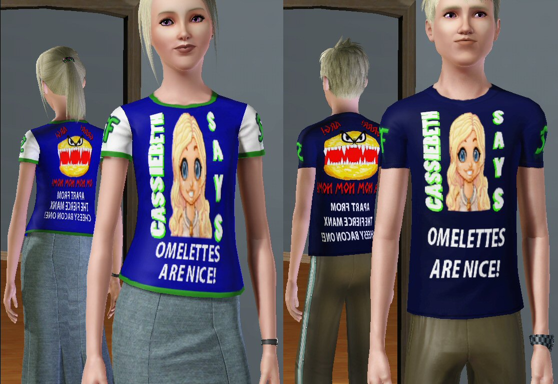 T-shirts based on a past article about the Sims Forums that appeared on The ...