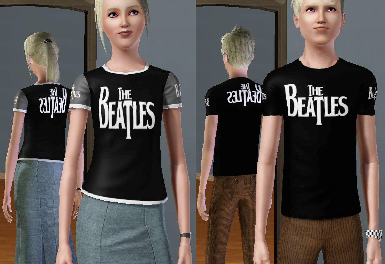 Sims 4 Cc Band Shirts Bcd Tofu House