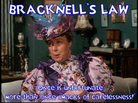 bracknell's law