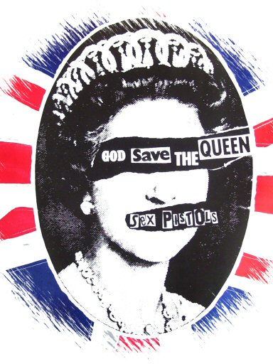 the sex pistols god save the queen in Peterborough