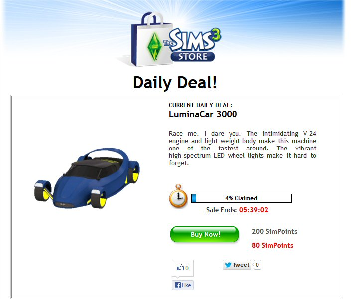 daily deal at