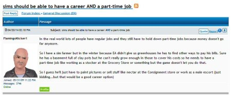 flamingokicker1 wants multiple jobs