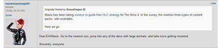 neogaf members not happy about Sims 4 either 1