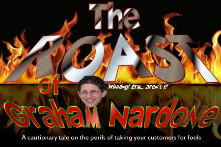 the roast of graham nardone header