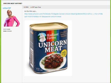 zombie apocalypse and unicorn meat 1