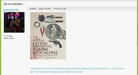 zombie apocalypse and unicorn meat