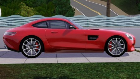 the fresh prince's 2016 Mercedes-Benz AMG GT 1