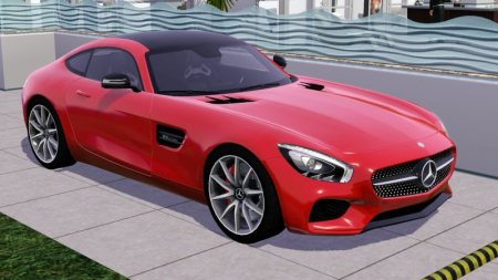 the fresh prince's 2016 Mercedes-Benz AMG GT