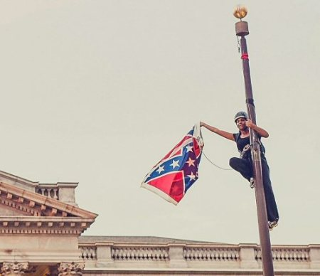 bree newsome and the confederate flag
