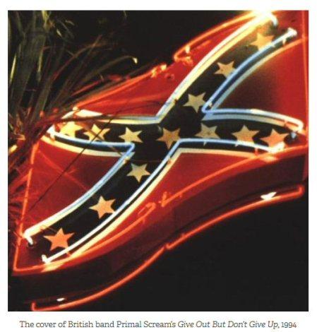 primal scream and confederate flag