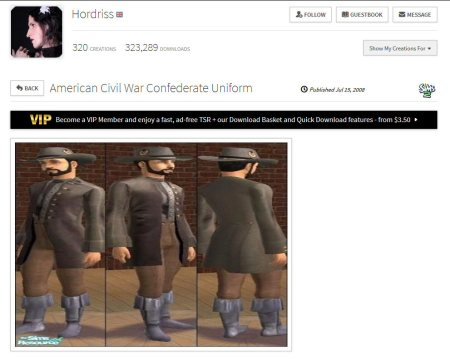 the sims resource on the confederate flag controversy