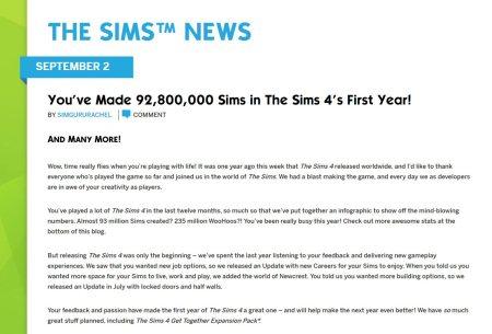 simguru rachel gets told a few home truths about sims 4