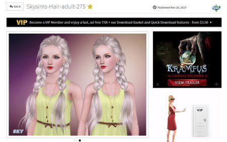 a new skysims hair how long before cheap copies appear