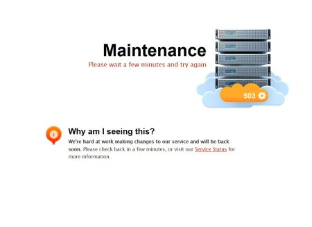 ea forum undergoing maintenance all the time