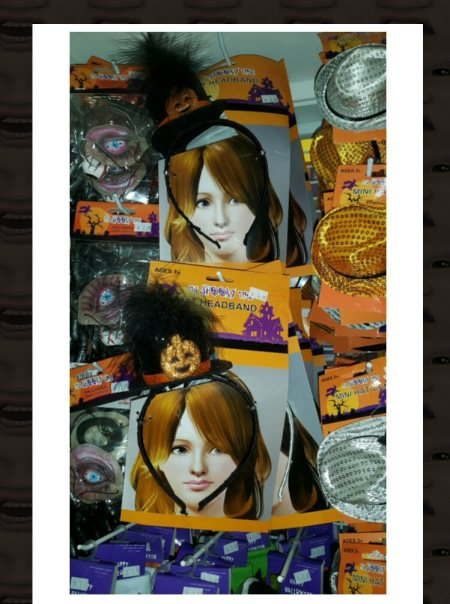 peggyhair pic used to advertise halloween tacky crap