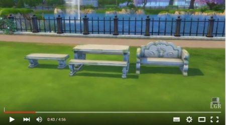 phreakindee reviews sims 4 romantic garden crap