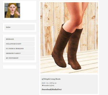 simrer-ninyo's awful boots