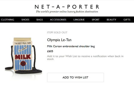 Walkininfected Tries Stealing The Copyright On Olympia Le Tan's Milkbag Like A Cheeky Wankbag 1