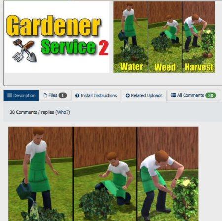 douglasveiga's gardener service mod updated
