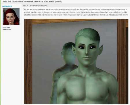 lablue0314's wardrobe malfunctioning alien
