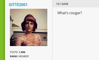 Roman2886 Wants To Know Who's Putting The Cougar-Choo Into Your Sims 3 4