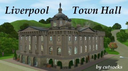 Cutsocks version of liverpool town hall