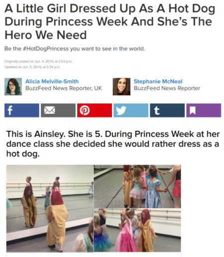 inside every princess there's a hot dog waiting to get out 1