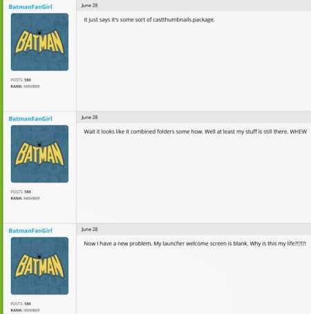 BatmanFanGirl Makes A Dog's Dinner Dinner Dinner Dinner Of Explaining Her Game Problems To TreyNutz 3