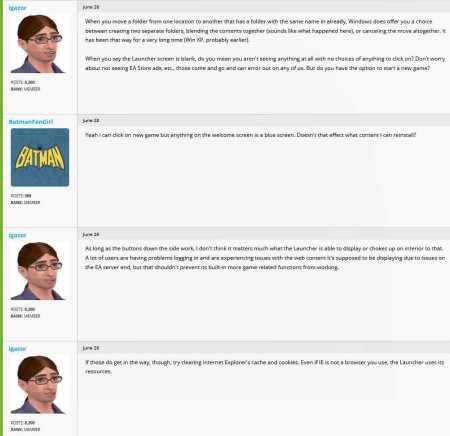 BatmanFanGirl Makes A Dog's Dinner Dinner Dinner Dinner Of Explaining Her Game Problems To TreyNutz 4
