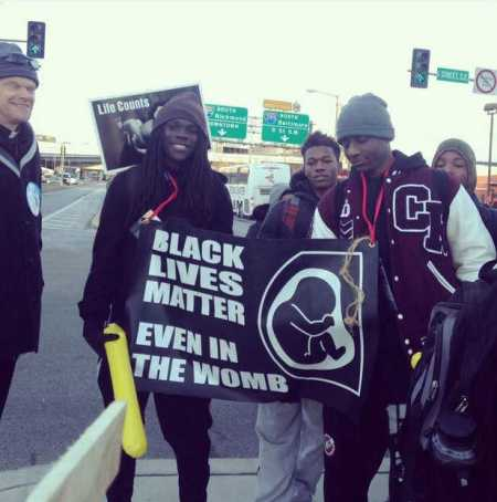black lives matter's links to sinister stop black genocide movement