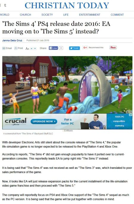 the sims 5 nonsense in july 2016 1