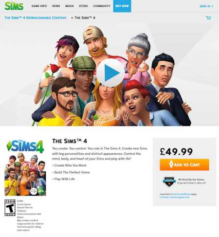 ea lying about savings for sims 4 on ea forum 1