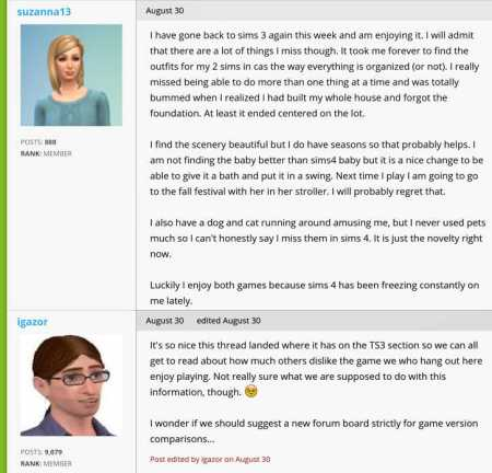 evalen and sims 3 vs sims 4 2